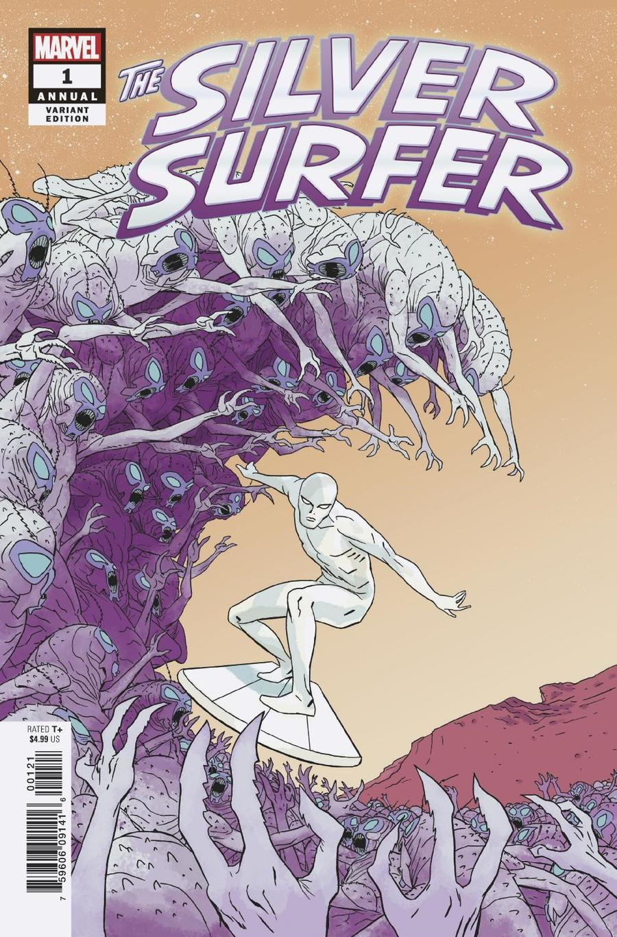 Silver Surfer Vol 7 Annual #1 Cover B Variant Marcos Martin Cover