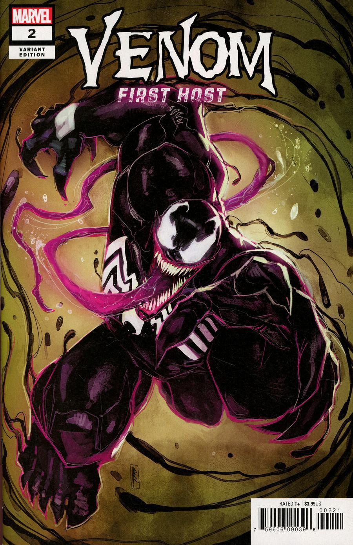 Venom First Host #2 Cover B Variant Rod Reis Cover
