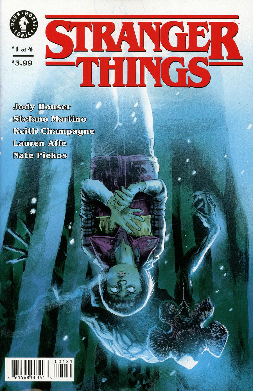 Stranger Things #1 Cover B Variant Rafael Albuquerque Cover