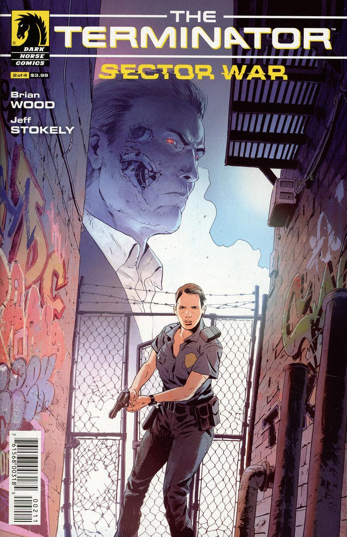 Terminator Sector War #2 Cover A Regular Robert Sammelin Cover