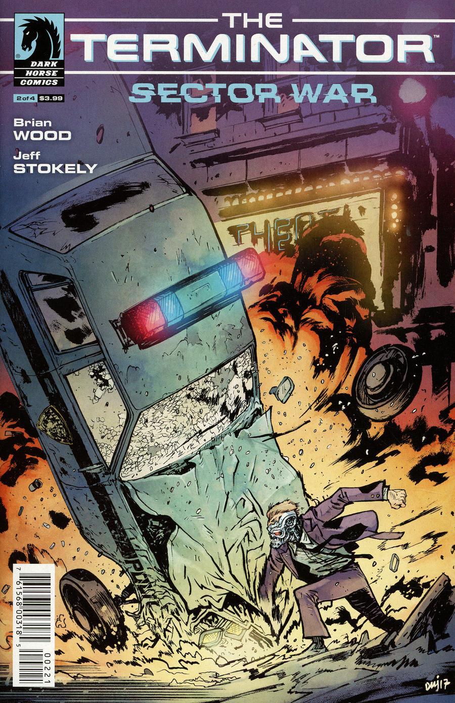 Terminator Sector War #2 Cover B Variant Daniel Warren Johnson Cover