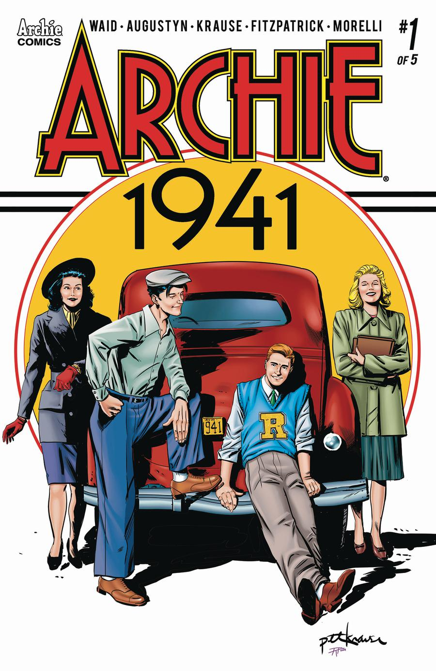 Archie 1941 #1 Cover A Regular Peter Krause Cover