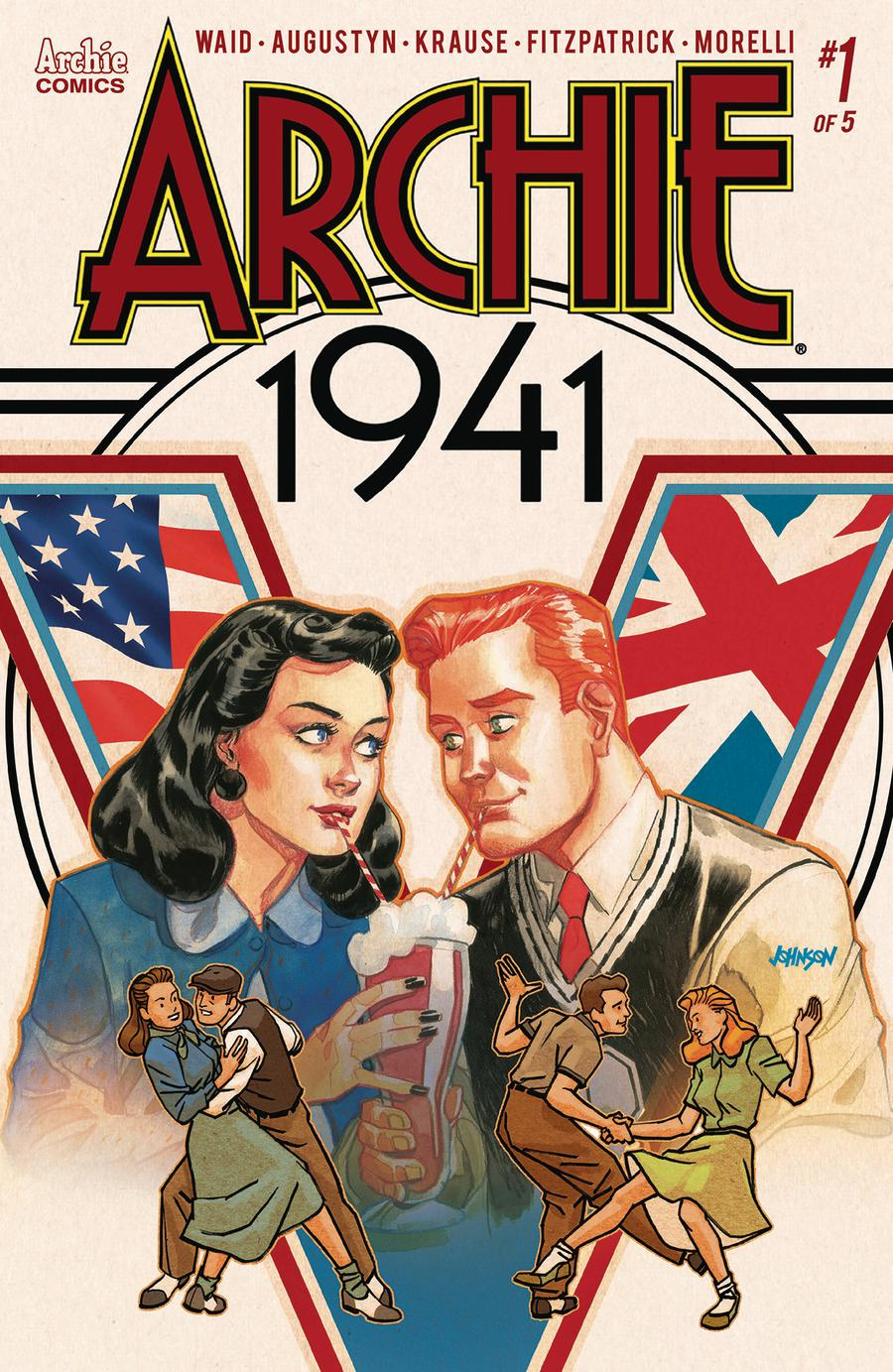 Archie 1941 #1 Cover D Variant Dave Johnson Cover