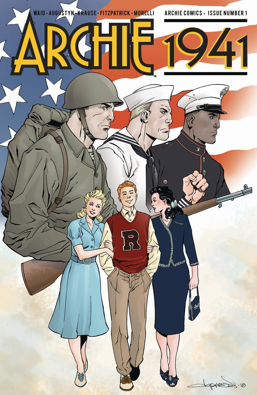 Archie 1941 #1 Cover E Variant Aaron Lopresti Cover