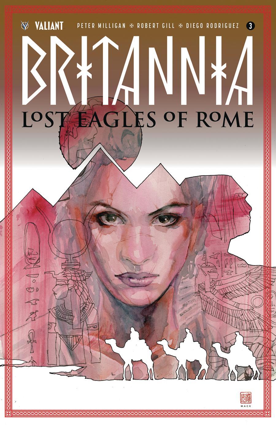 Britannia Lost Eagles Of Rome #3 Cover A Regular David Mack Cover