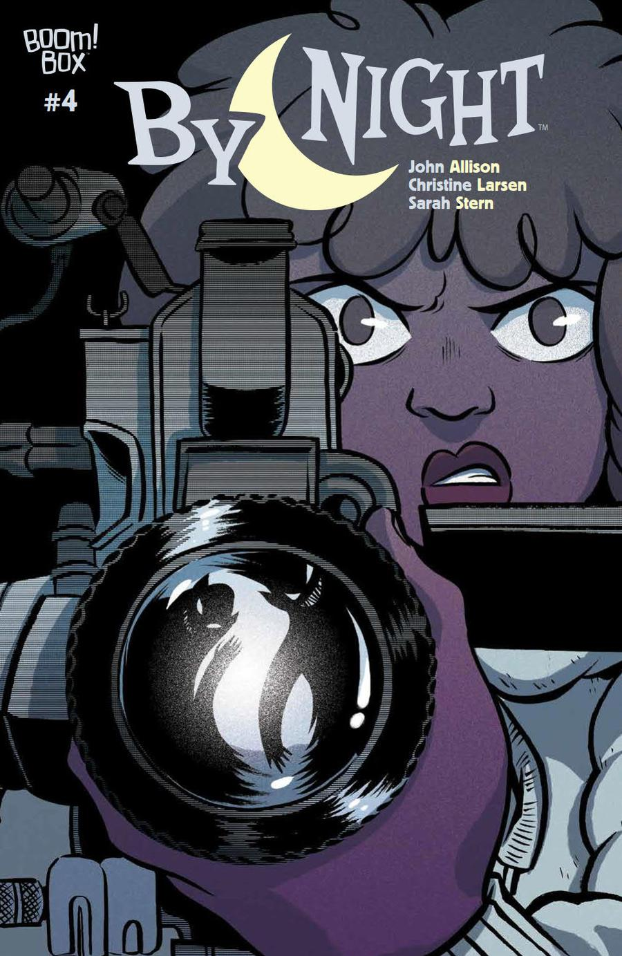 By Night #4 Cover A Regular Christine Larsen Cover