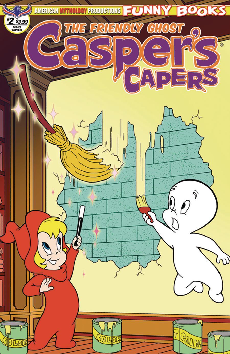Caspers Capers #2 Cover A Regular Jazz Dela Cuesta Cover