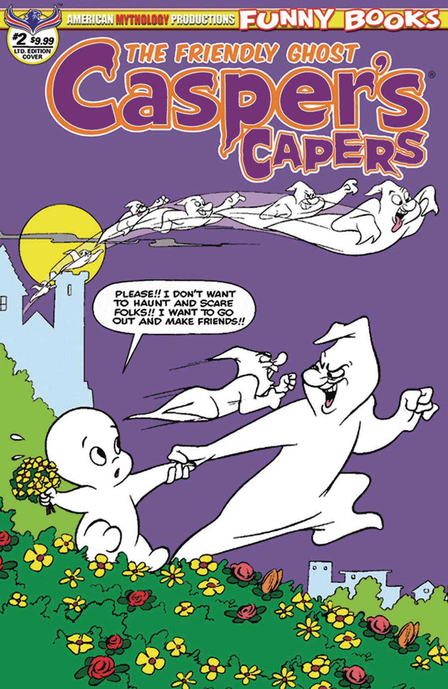 Caspers Capers #2 Cover B Limited Edition Warren Kremer