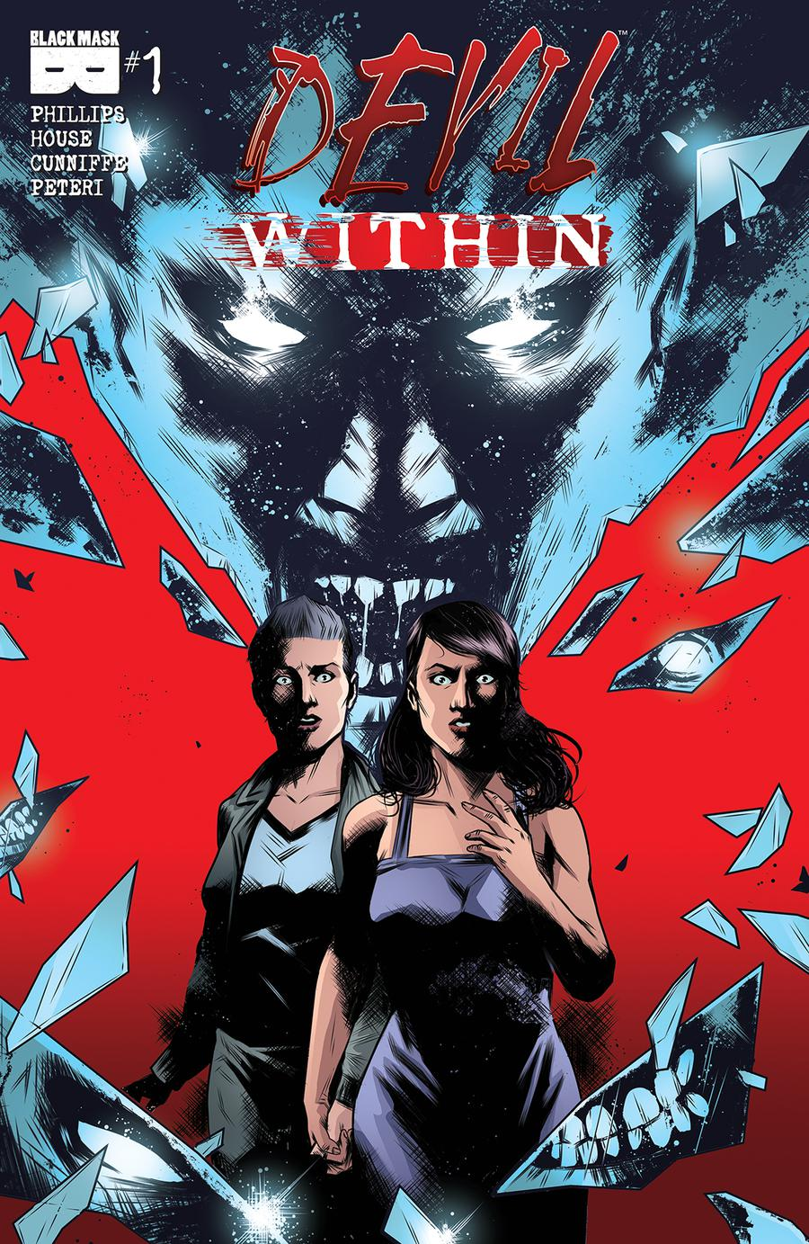 Devil Within #1 Cover A 1st Ptg Regular Maan House Cover