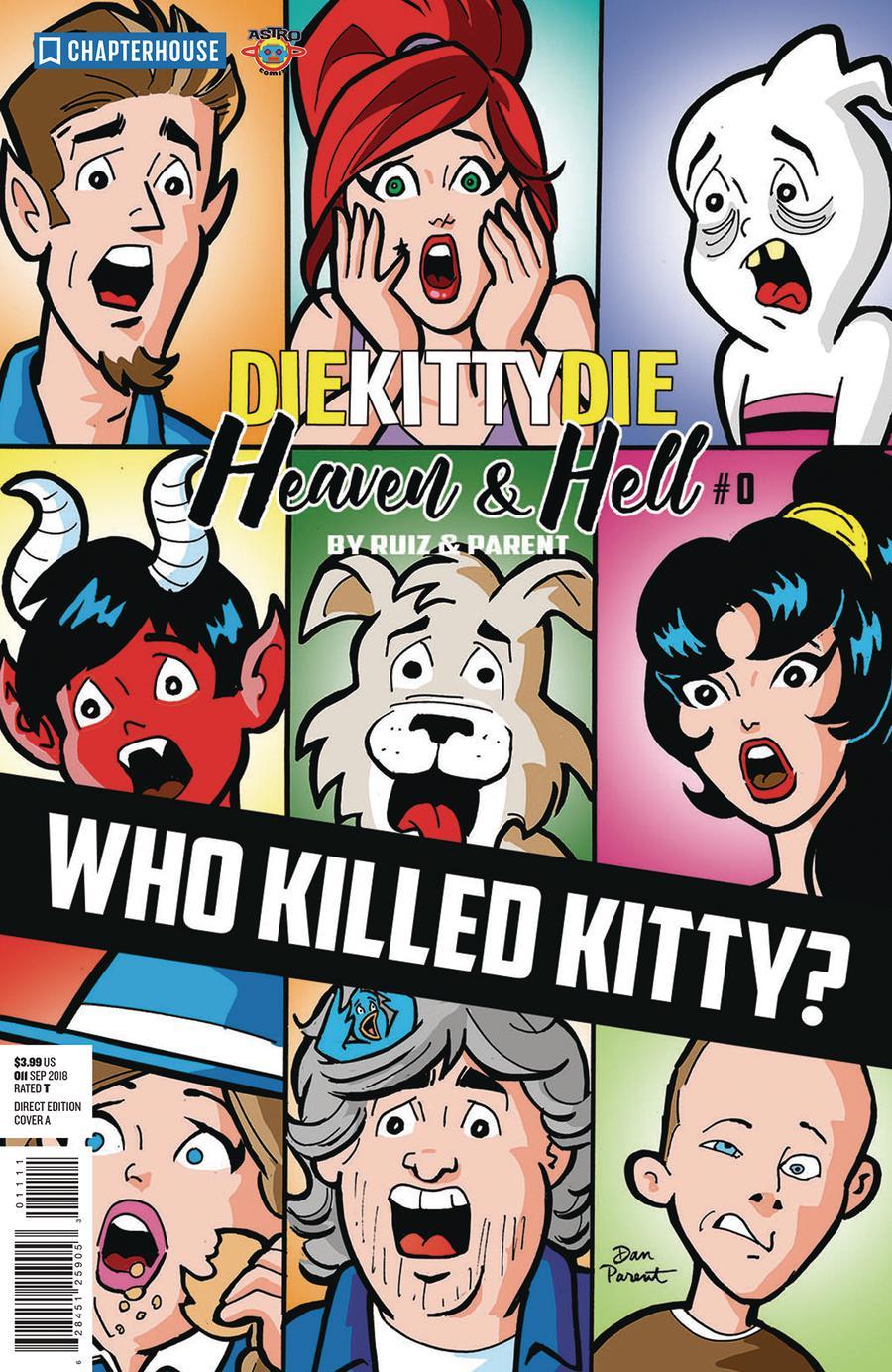 Die Kitty Die Heaven And Hell #0