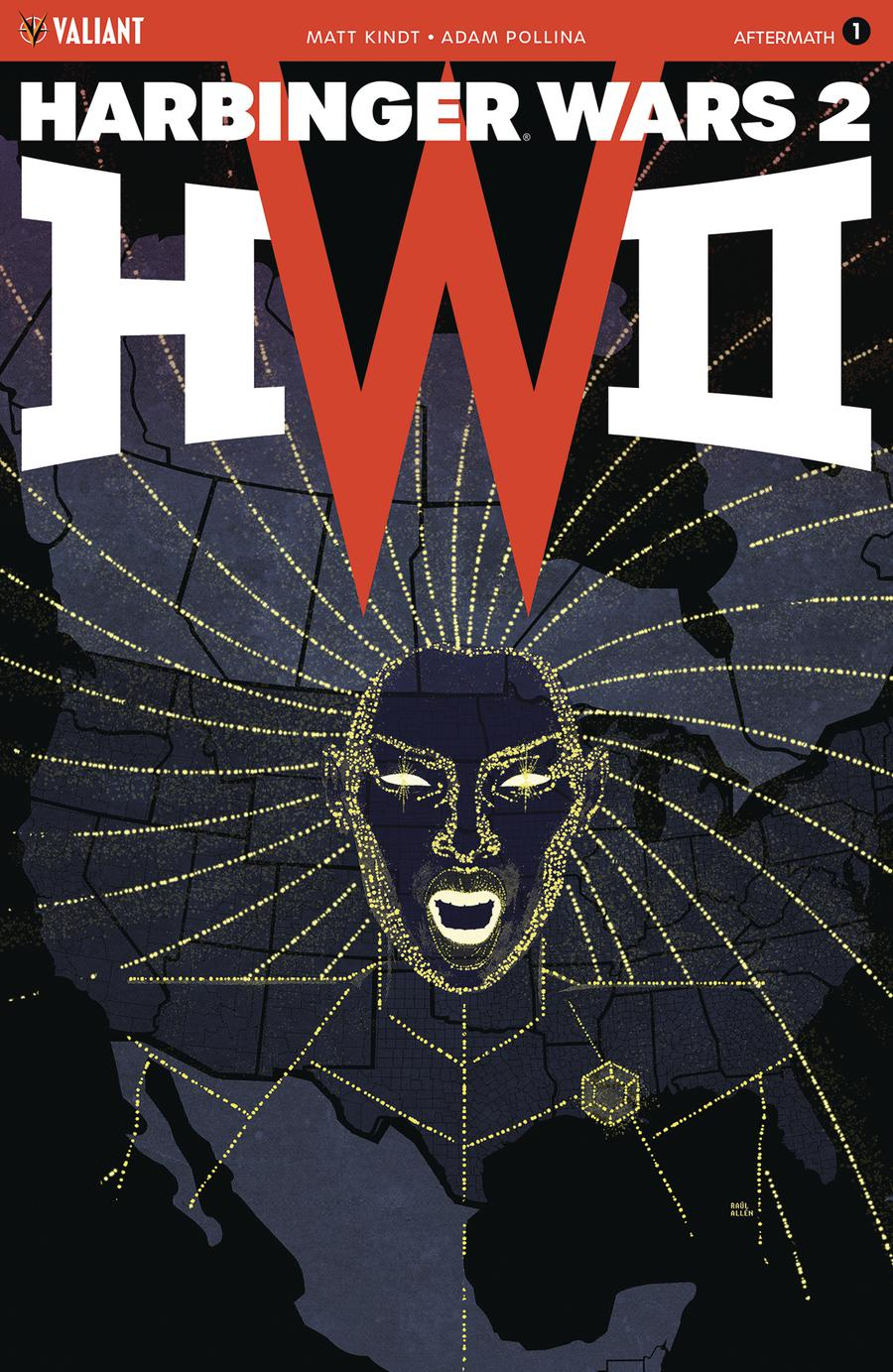 Harbinger Wars 2 Aftermath #1 Cover A Regular Raul Allen Cover