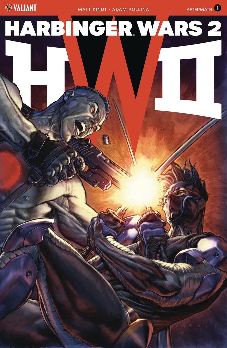 Harbinger Wars 2 Aftermath #1 Cover B Variant Lewis Larosa Cover