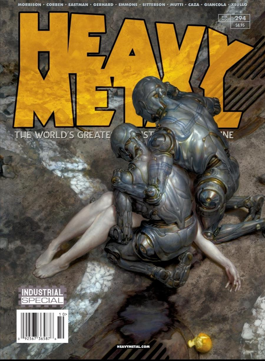 Heavy Metal #294 Cover A Donato Giancola