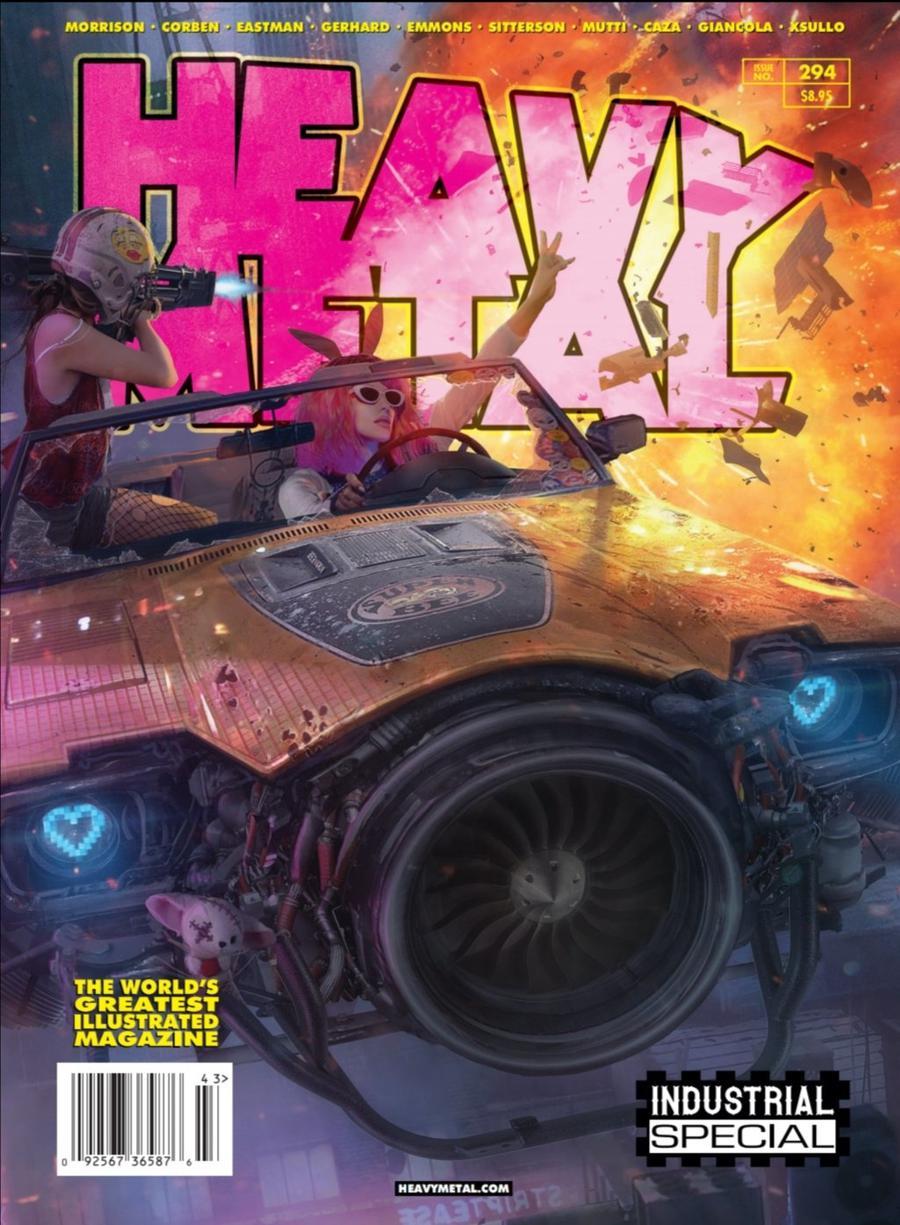 Heavy Metal #294 Cover C Tom Hisbergue