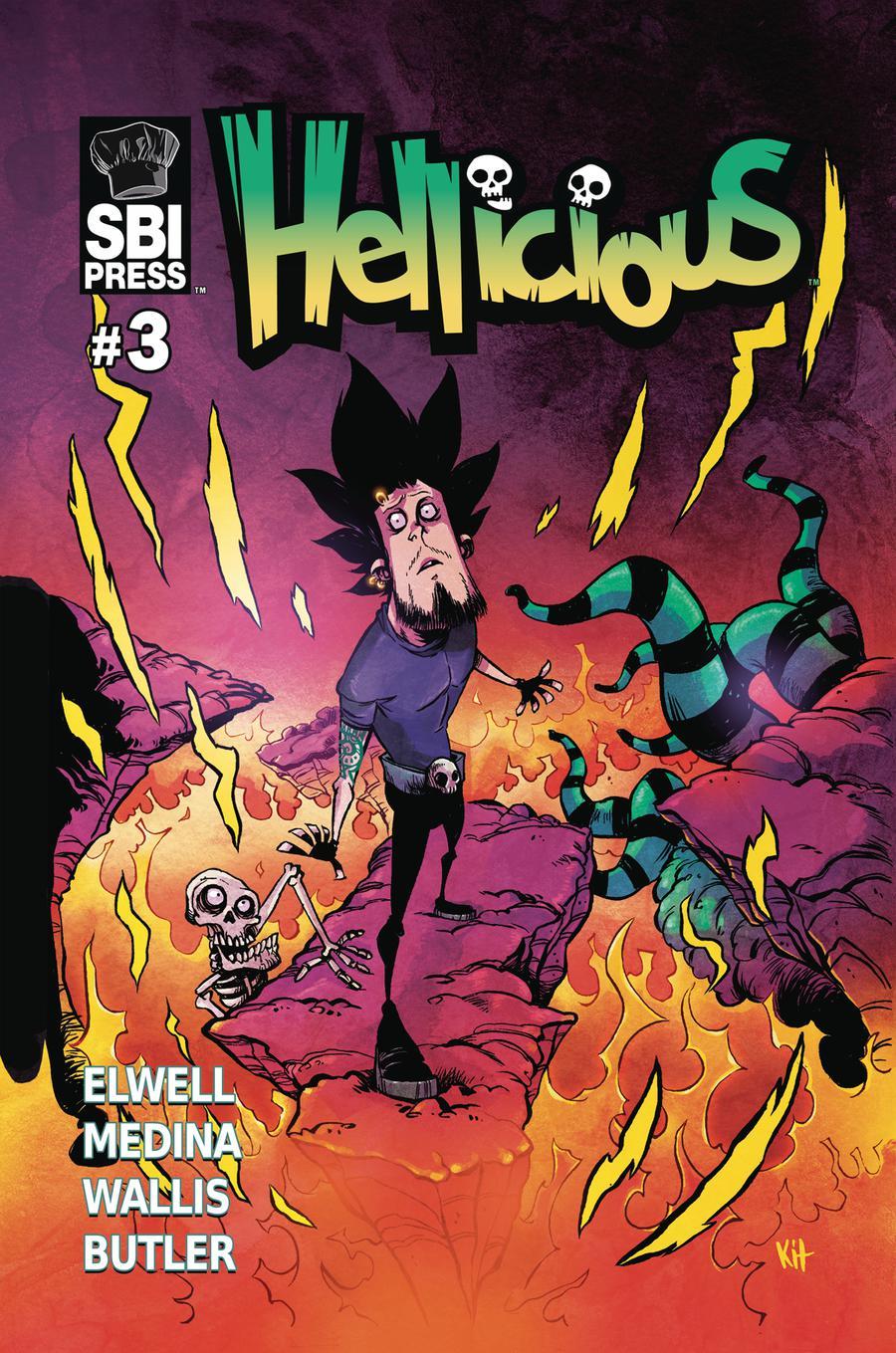 Hellicious #3 Cover A Regular Kit Wallis & Jio Butler Cover