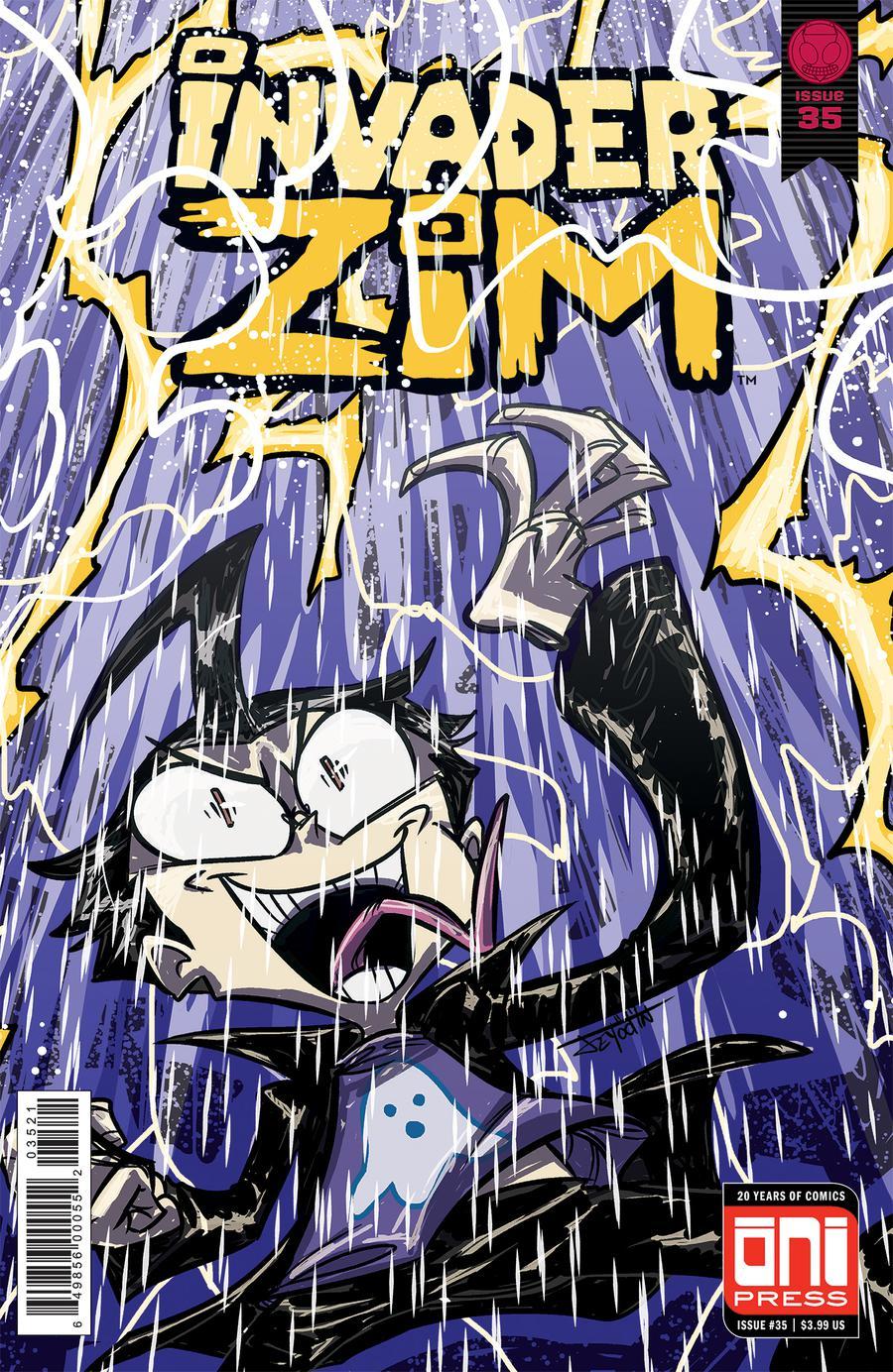 Invader Zim #35 Cover B Variant Jey Odin Cover