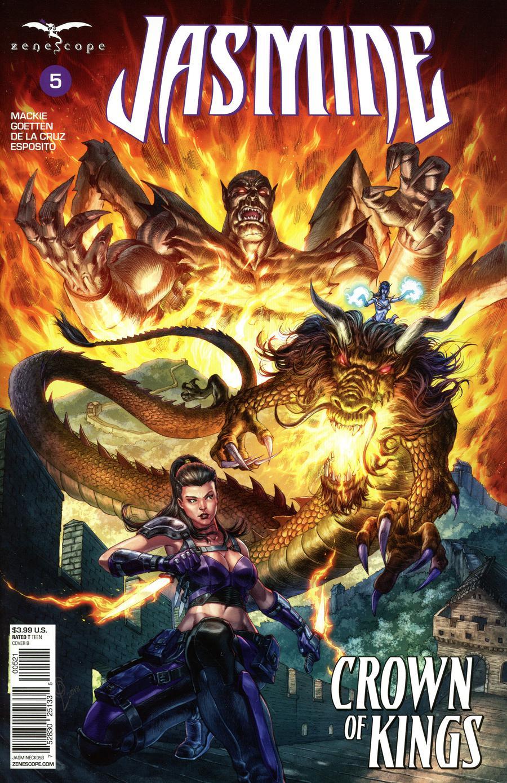 Grimm Fairy Tales Presents Jasmine Crown Of Kings #5 Cover B Alan Quah