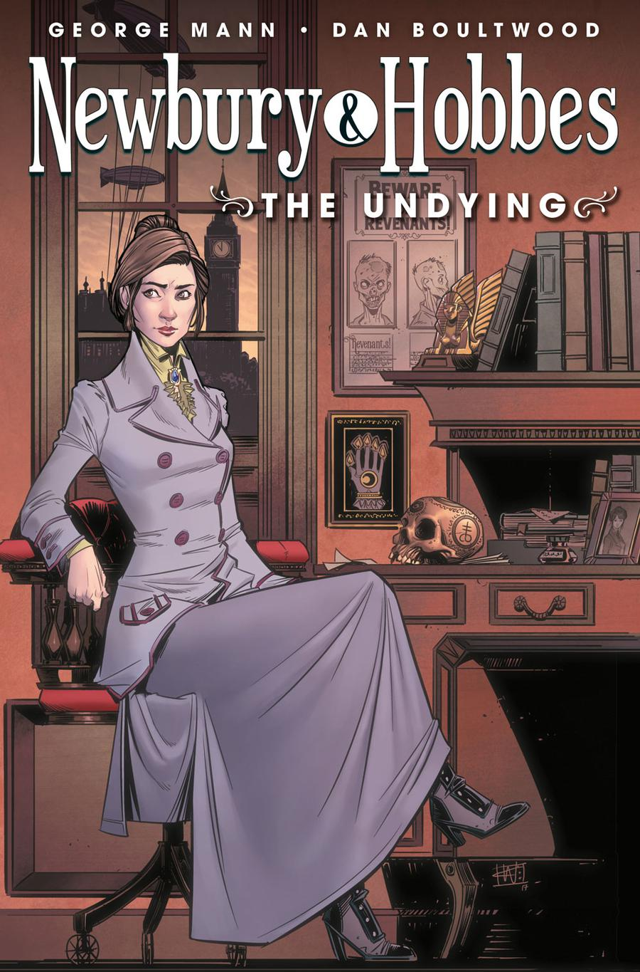 Newbury & Hobbes The Undying #1 Cover B Variant Chris Wildgoose Cover