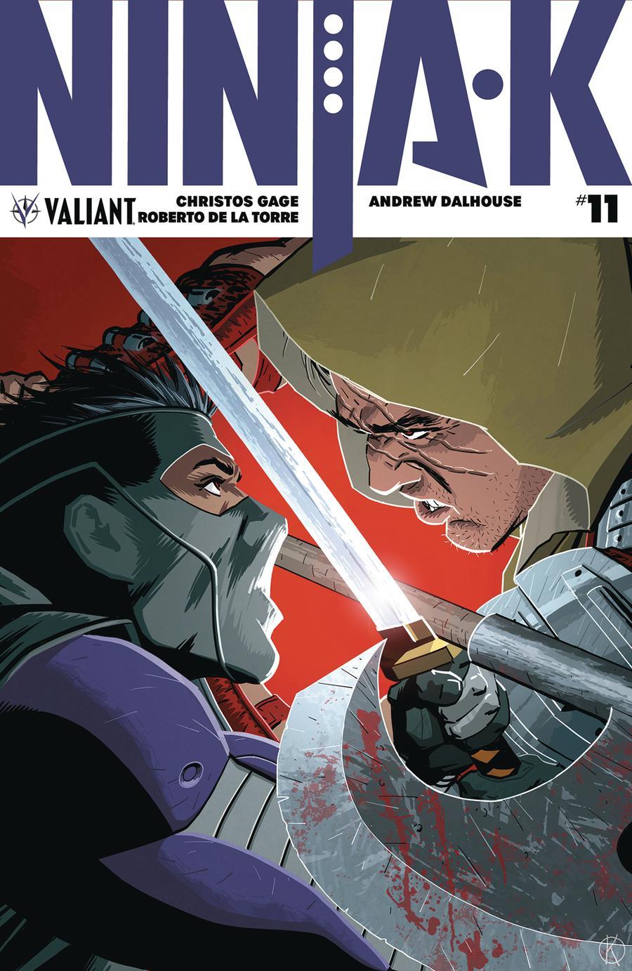 Ninja-K #11 Cover A Regular Kano Cover
