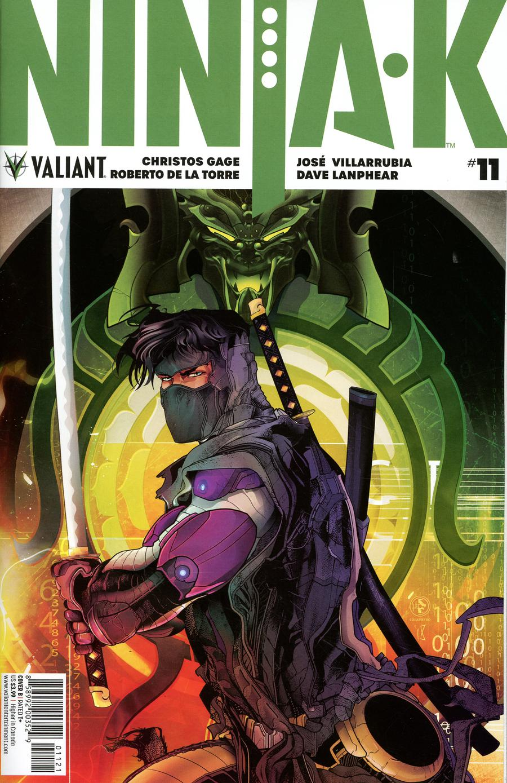 Ninja-K #11 Cover B Variant Leo Colapietro Cover