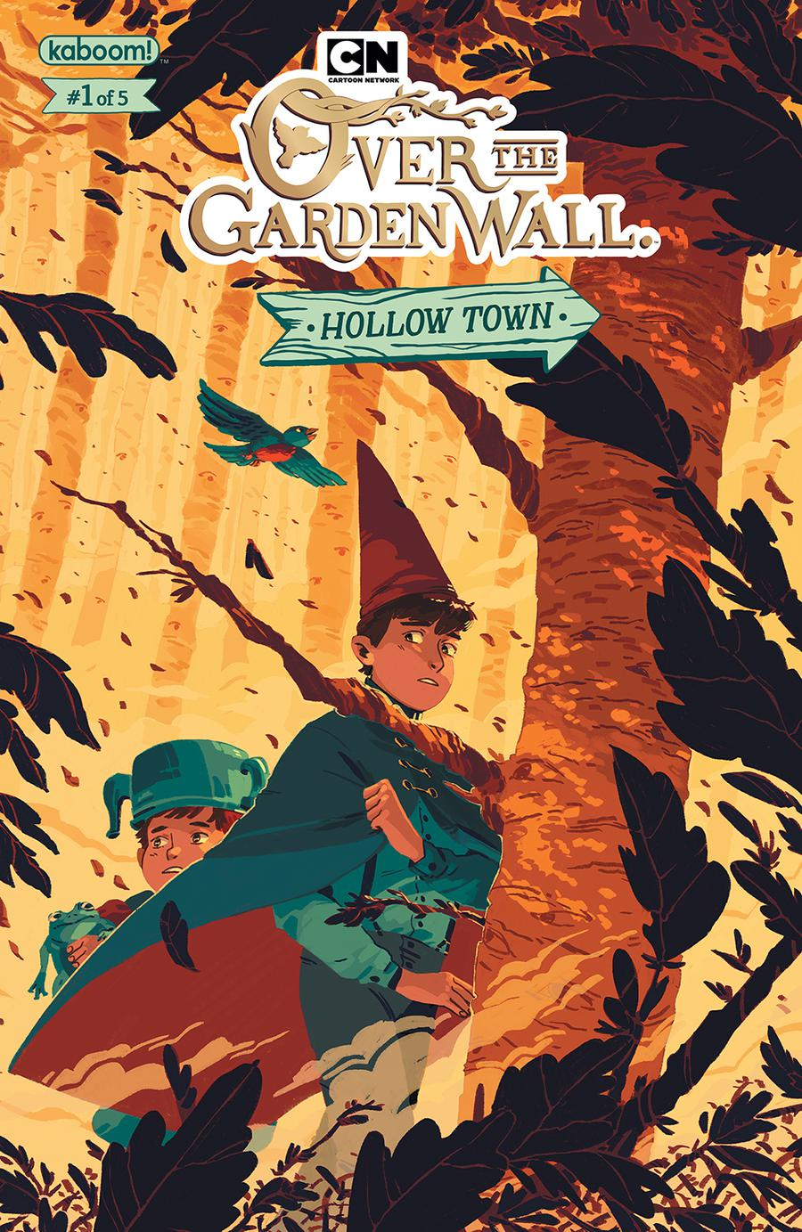 Over The Garden Wall Hollow Town #1 Cover A Regular Celia Lowenthal Cover
