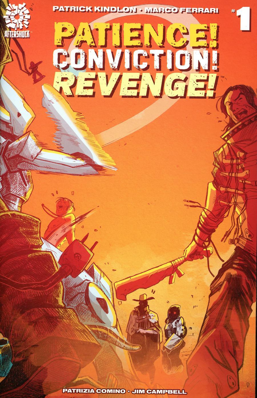 Patience Conviction Revenge #1 Cover A Regular Marco Ferrari & Patrizia Comino Cover