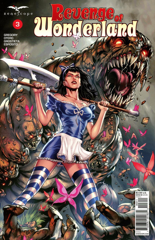 Grimm Fairy Tales Presents Revenge Of Wonderland #3 Cover A Igor Vitorino