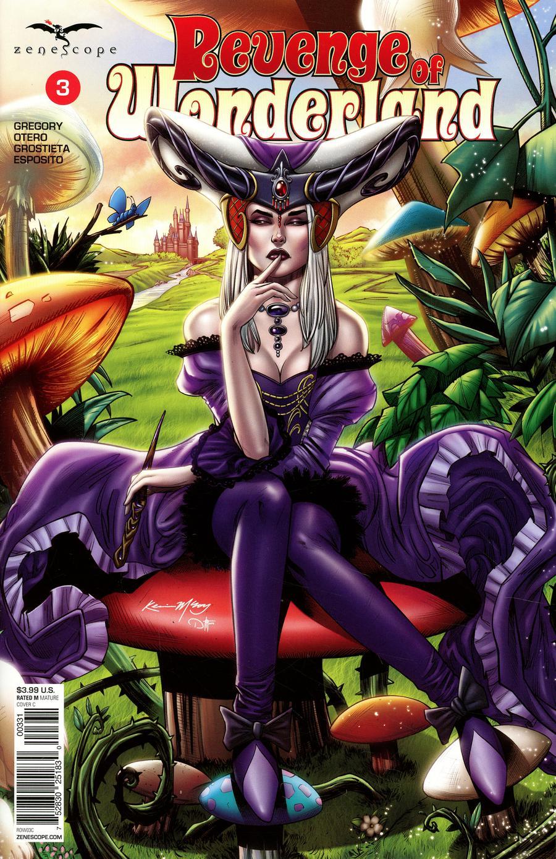 Grimm Fairy Tales Presents Revenge Of Wonderland #3 Cover C Kevin McCoy