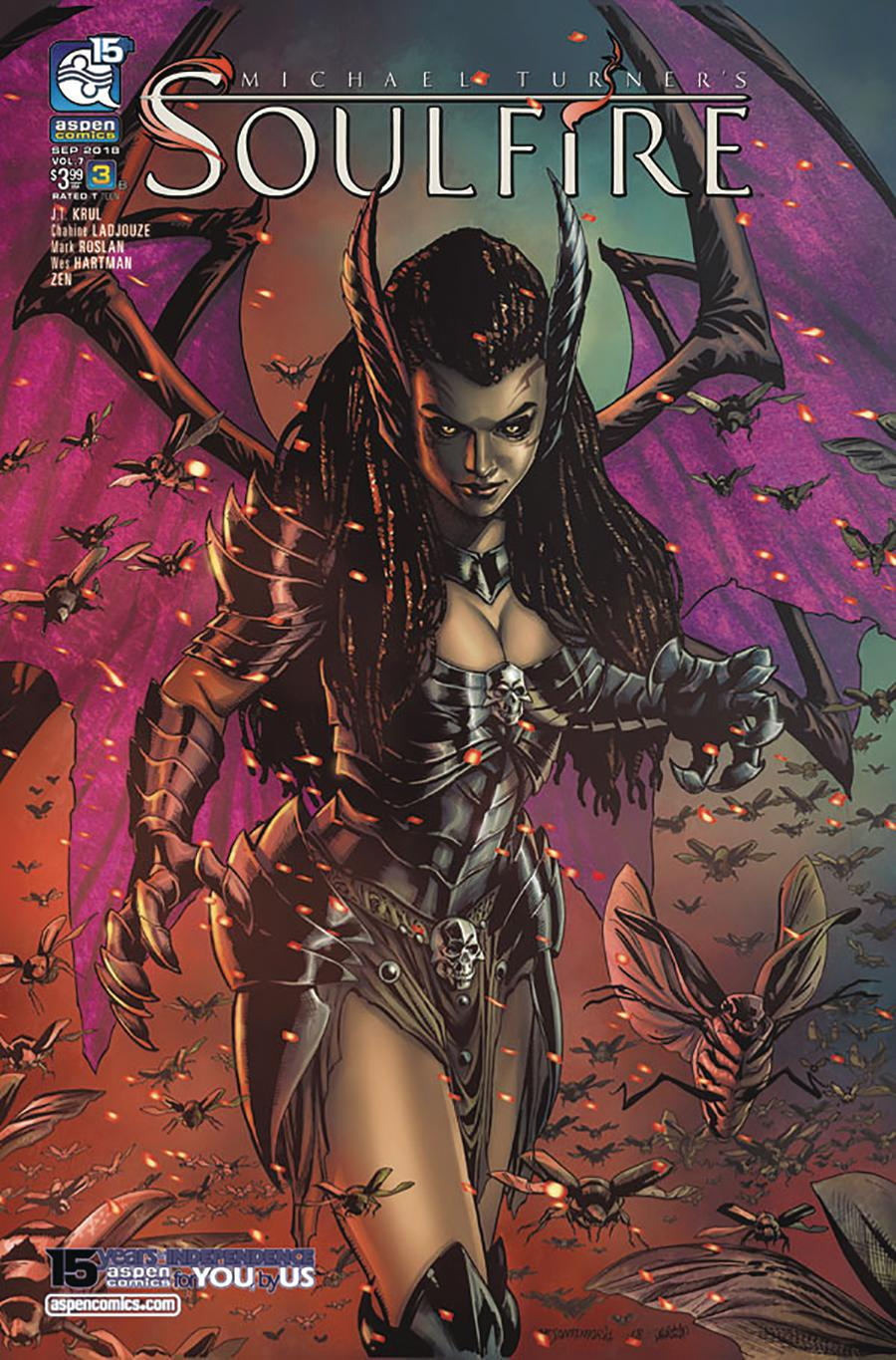 Soulfire Vol 5 #3 Cover B Variant Michael Sta Maria Cover