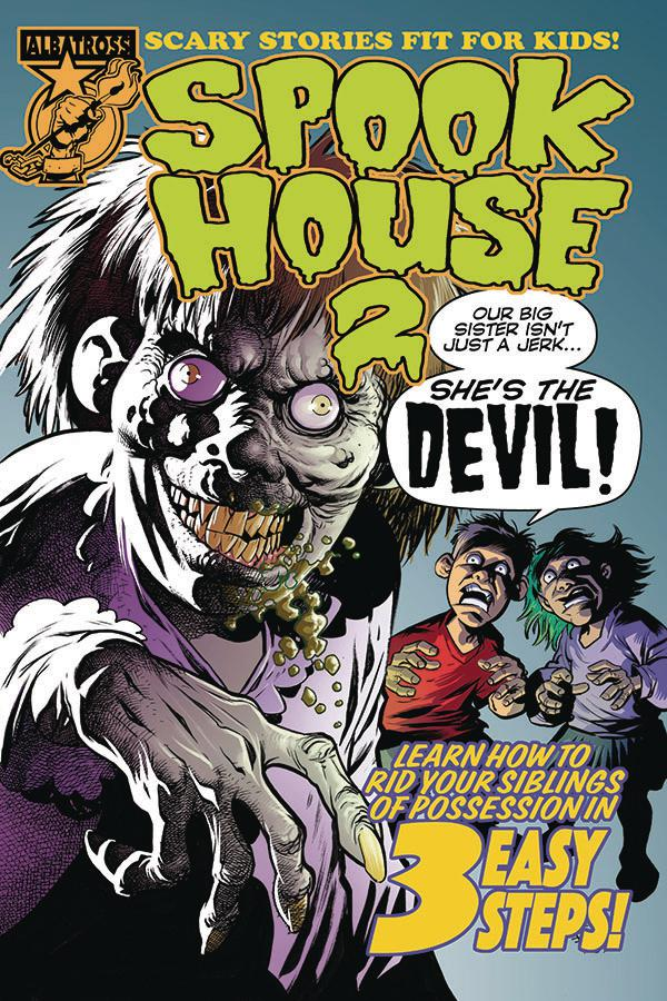 Spookhouse 2 #1 Cover A Regular Eric Powell Cover