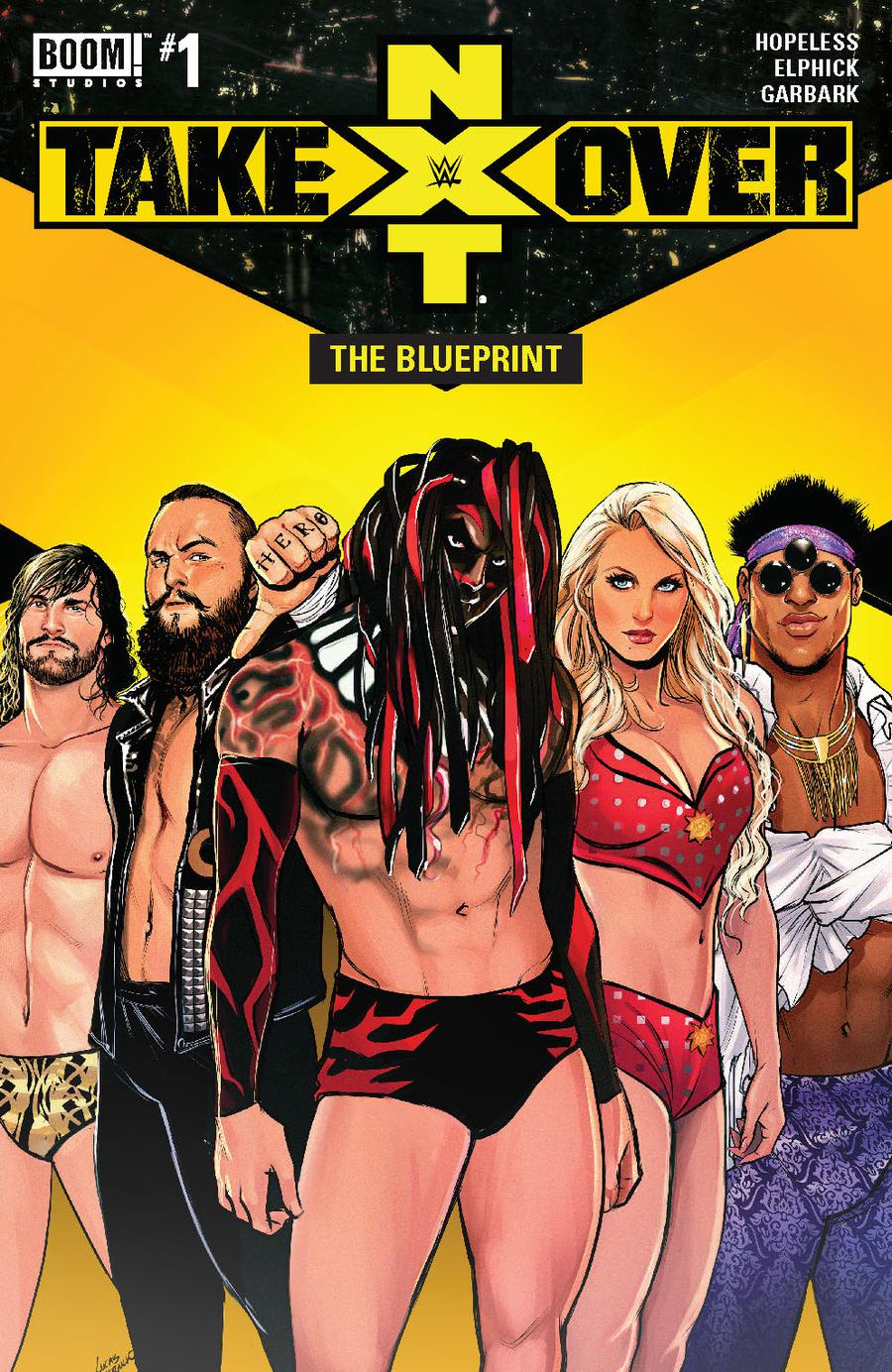WWE NXT Takeover Blueprint #1 Cover A Regular Lucas Werneck Cover