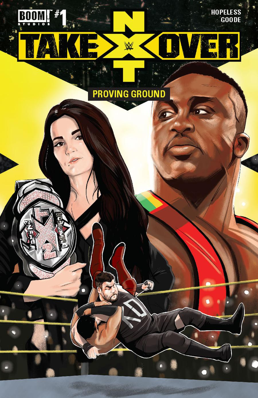 WWE NXT Takeover Proving Ground #1 Cover A Regular Aaron Dana Cover