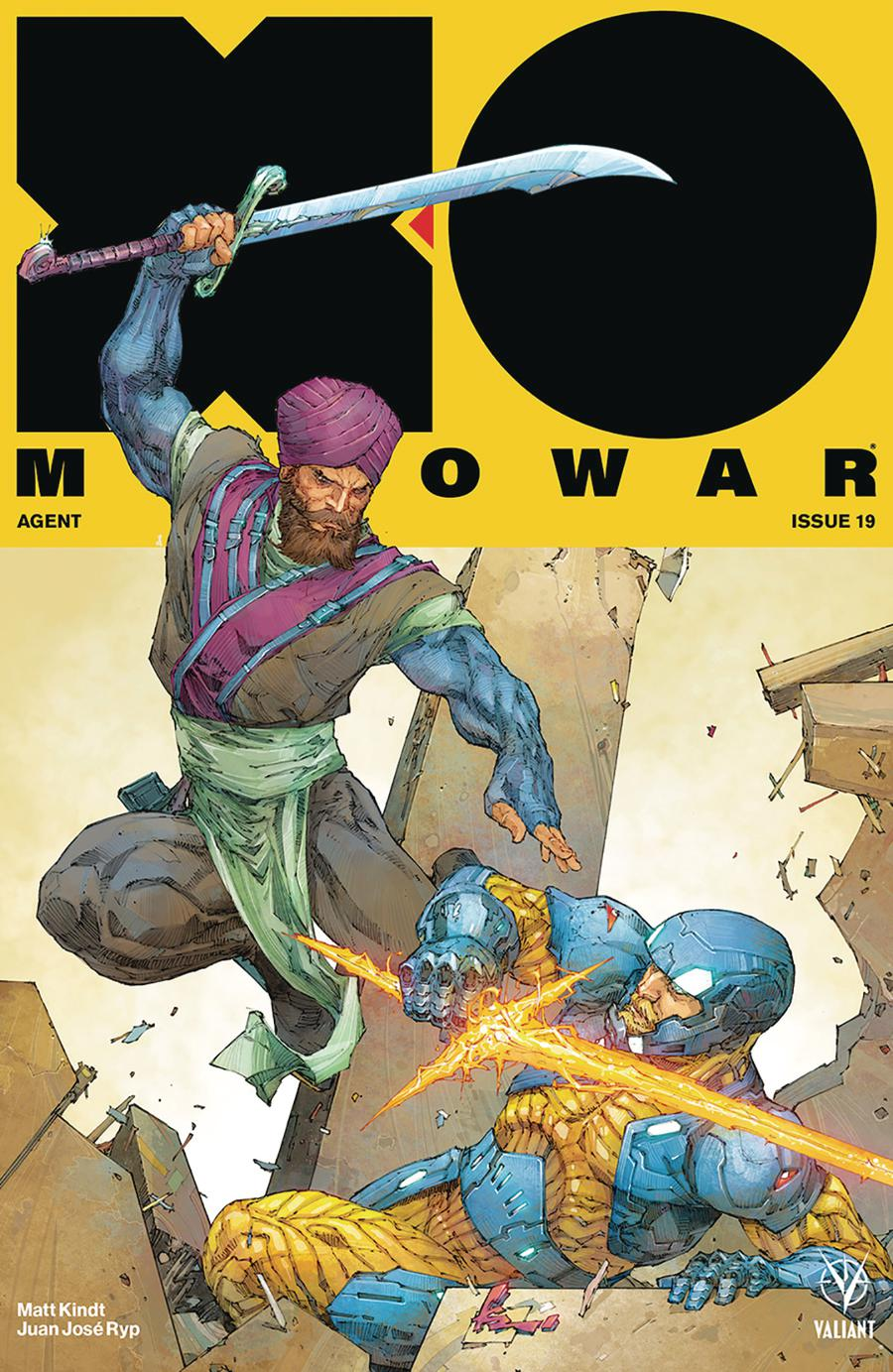 X-O Manowar Vol 4 #19 Cover A Regular Kenneth Rocafort Cover