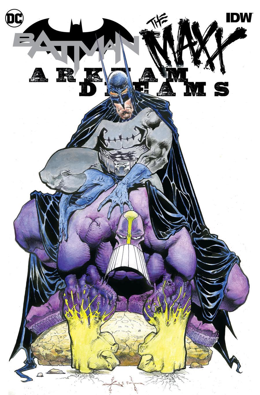 Batman The MAXX Arkham Dreams #1 Cover B Variant Sam Kieth Cover