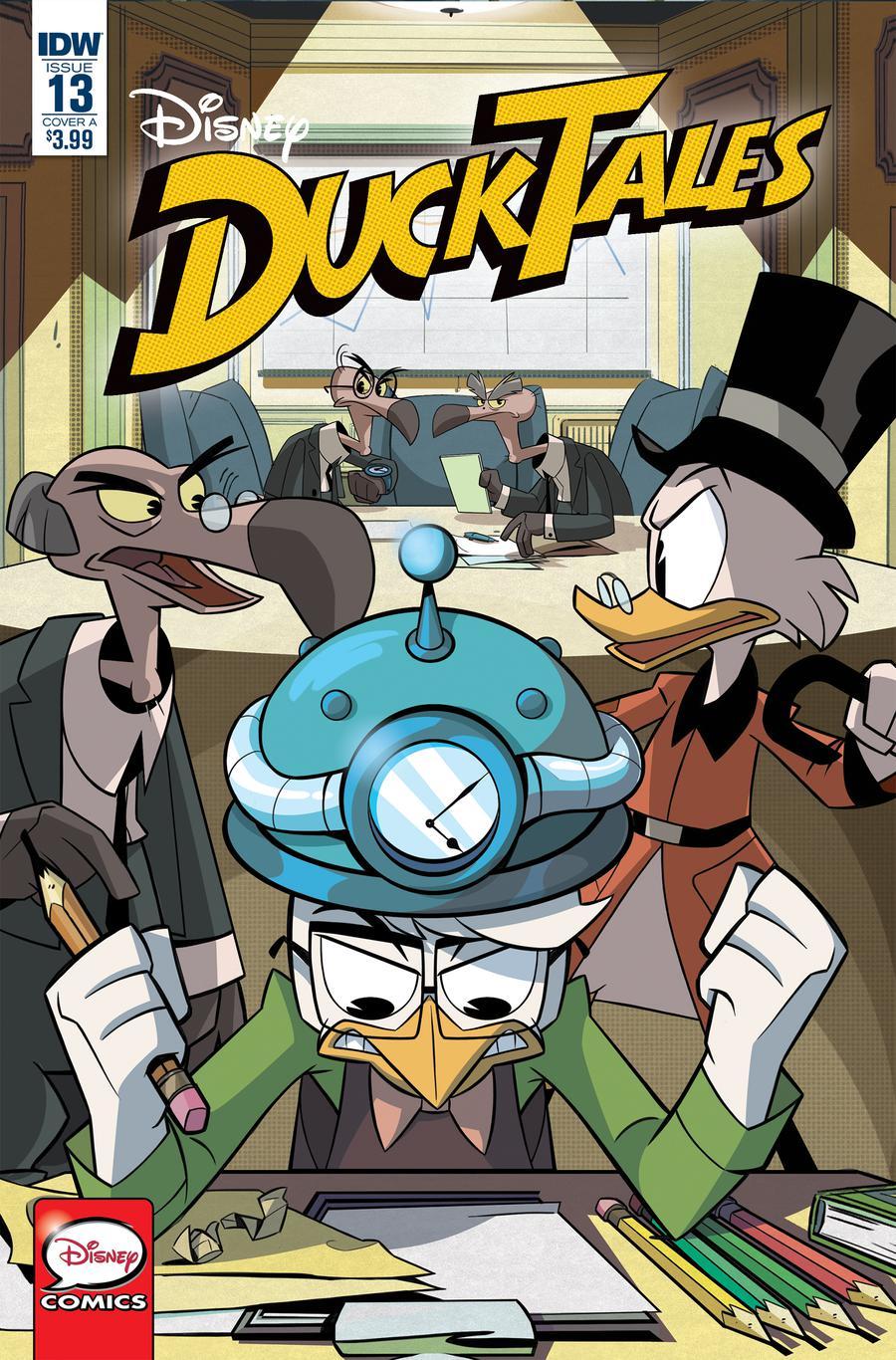 Ducktales Vol 4 #13 Cover A Regular Giuseppe Fontana Cover