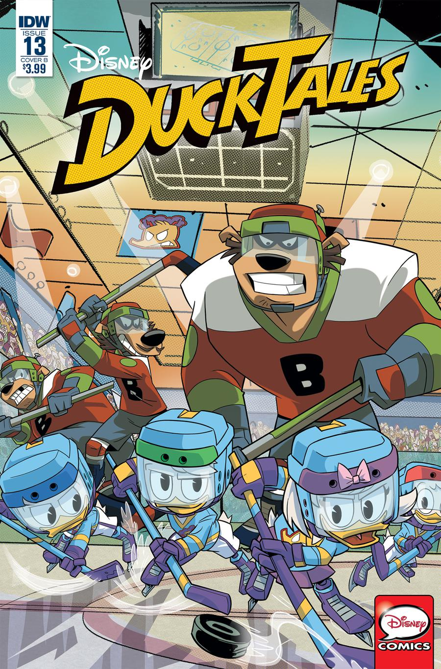 Ducktales Vol 4 #13 Cover B Variant Marco Ghiglione Cover