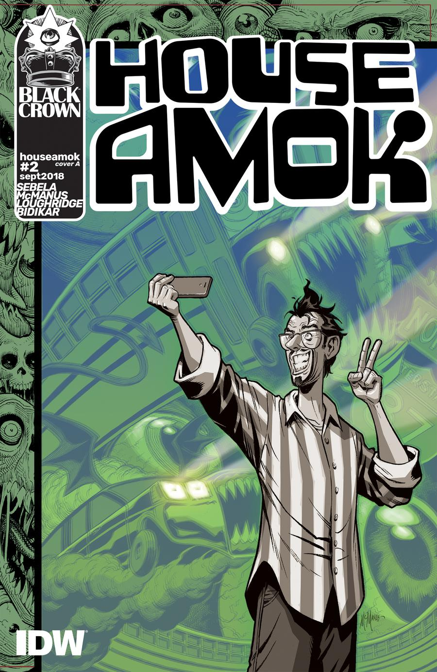 House Amok #2 Cover A Regular Shawn McManus Cover