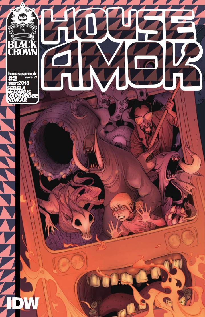 House Amok #2 Cover B Variant Caitlin Yarsky Cover
