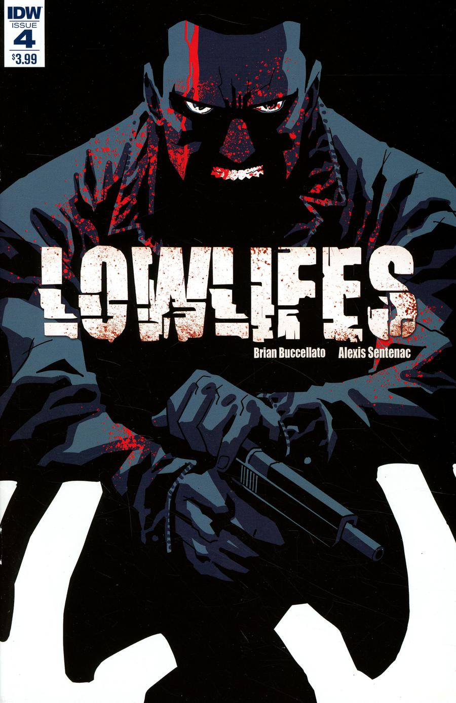 Lowlifes #4 Cover A Regular Brian Buccellato Cover