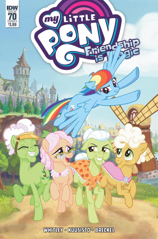 My Little Pony Friendship Is Magic #70 Cover A Regular Toni Kuusisto Cover