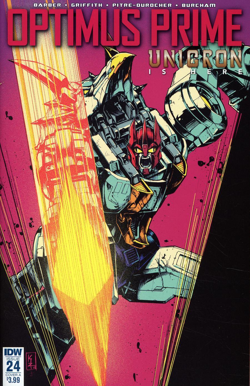 Optimus Prime #24 Cover A Regular Kei Zama Cover
