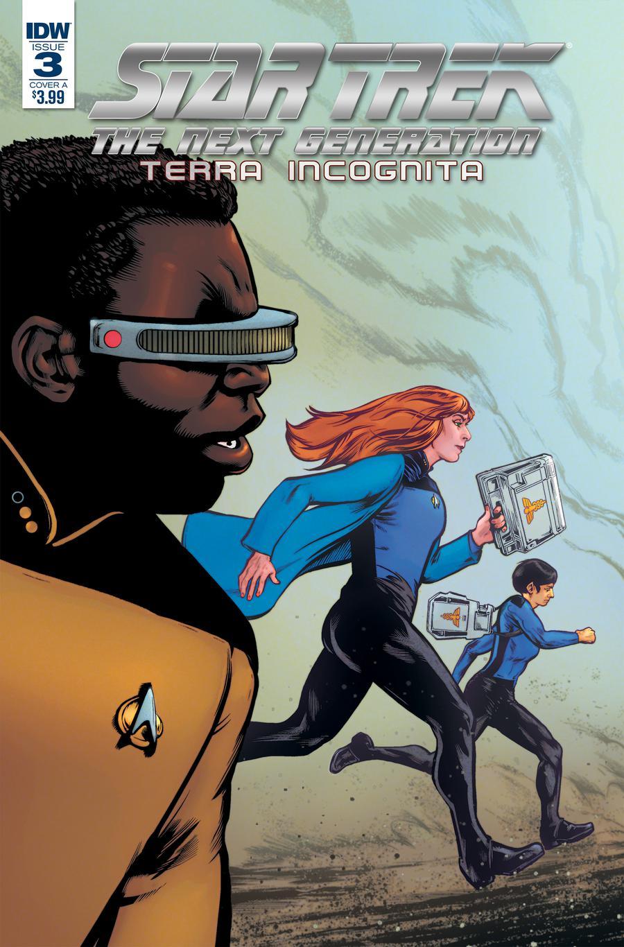 Star Trek The Next Generation Terra Incognita #3 Cover A Regular Tony Shasteen Cover