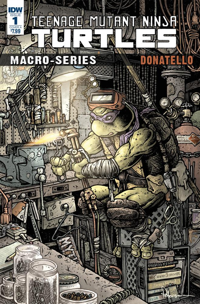Teenage Mutant Ninja Turtles Macro-Series Donatello Cover B Variant Ryan Brown Cover