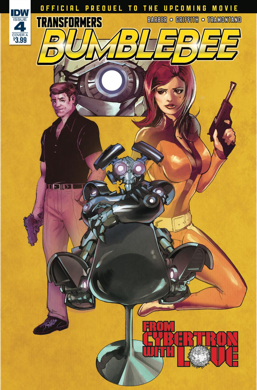 Transformers Bumblebee Movie Prequel #4 Cover A Regular Andrew Griffith Cover