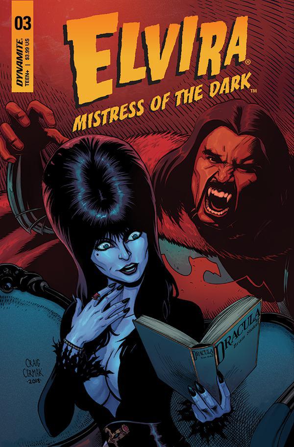 Elvira Mistress Of The Dark Vol 2 #3 Cover B Variant Craig Cermak Cover