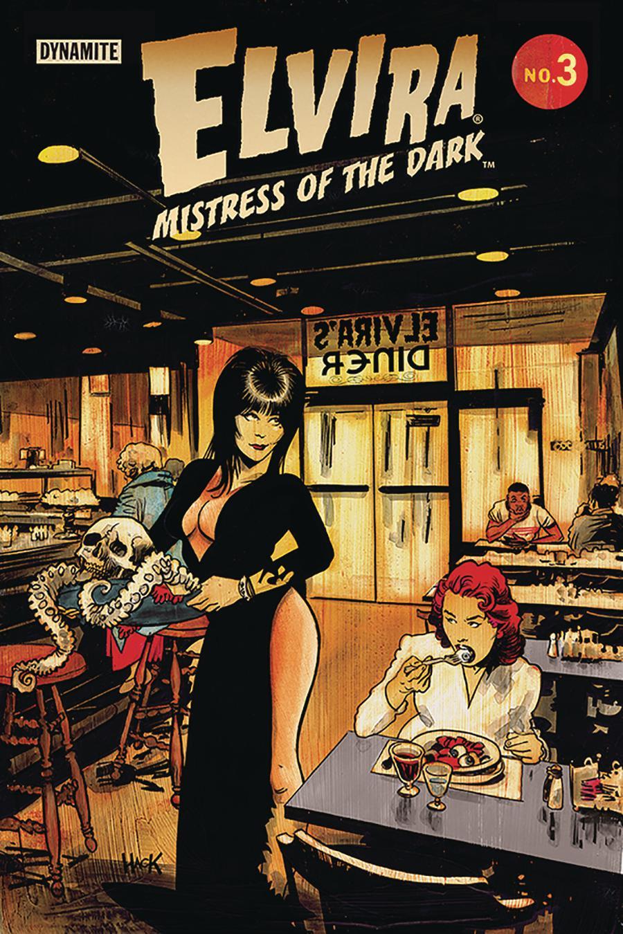 Elvira Mistress Of The Dark Vol 2 #3 Cover C Variant Robert Hack Cover