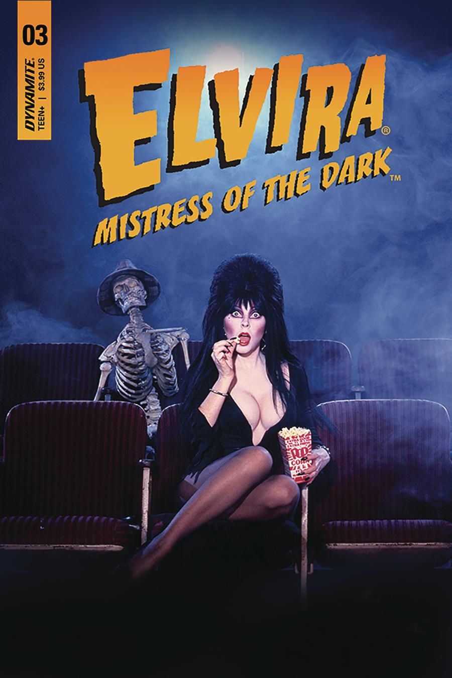 Elvira Mistress Of The Dark Vol 2 #3 Cover D Variant Photo Subscription Cover