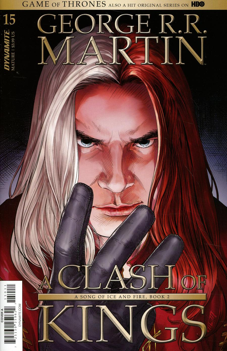 Game Of Thrones Clash Of Kings #15 Cover A Regular Mike S Miller Cover