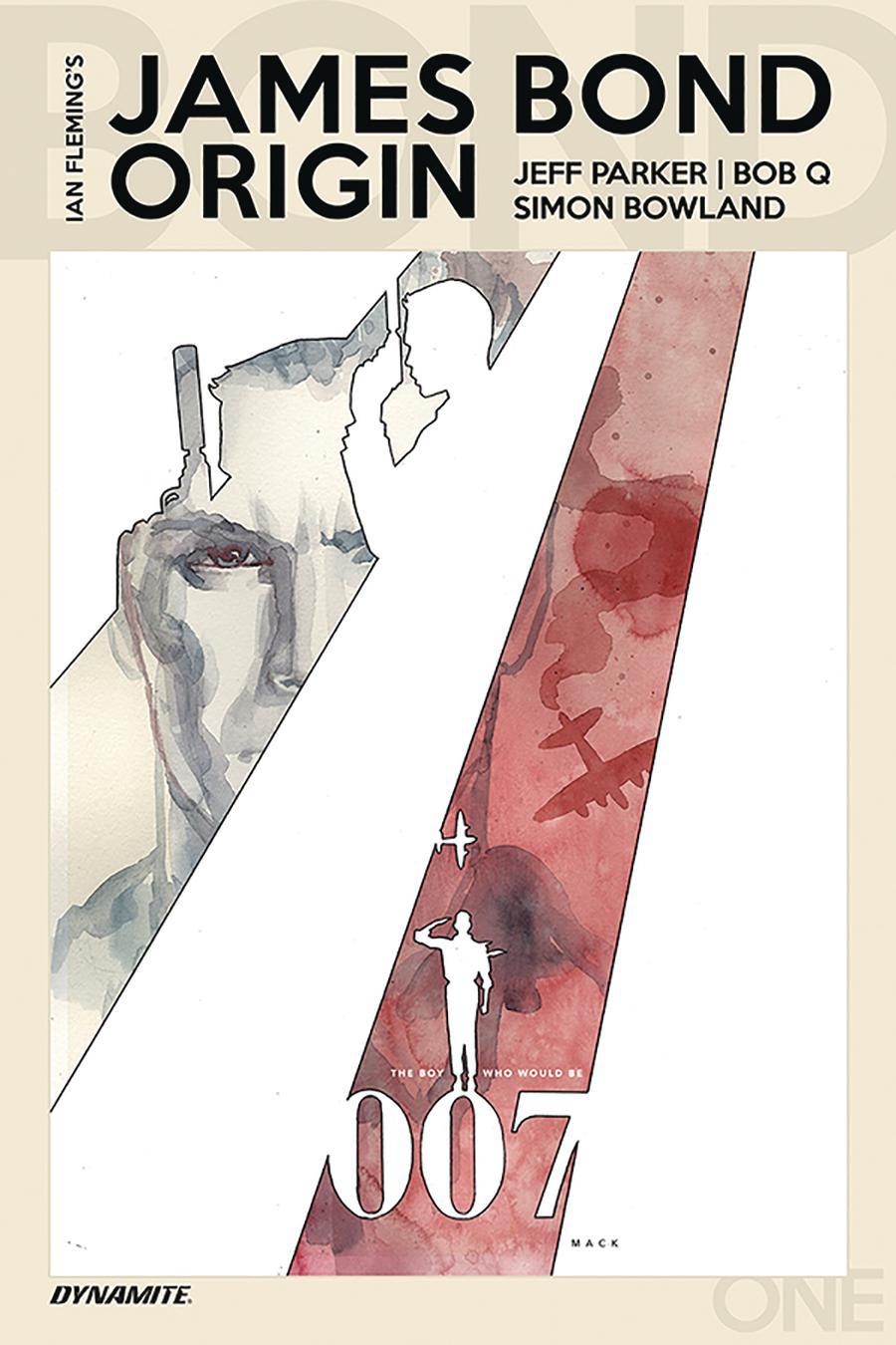 James Bond Origin #1 Cover B Variant David Mack Cover