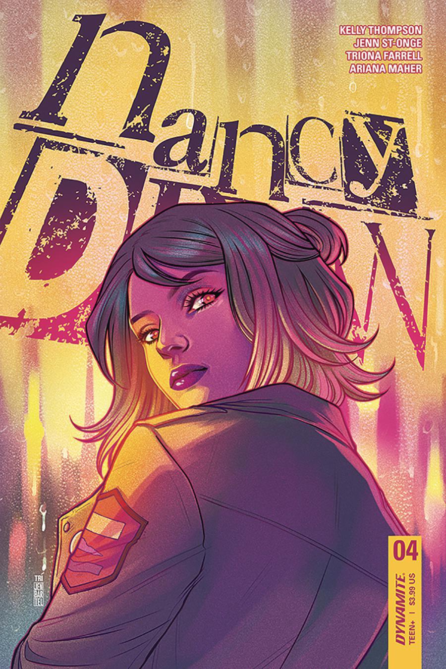 Nancy Drew #4 Cover B Variant Jen Bartel Cover